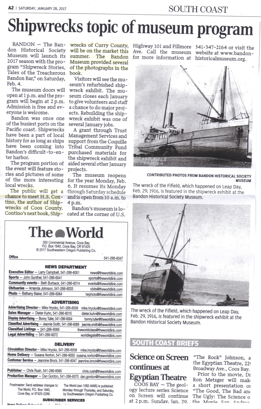 shipwrecks-topic-of-museum-program-newspaper-clipping